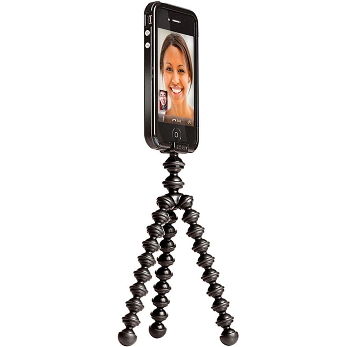 Tripé Flexível Com Clip Para Iphone 4 / 4S Gm2 - A1am Joby
