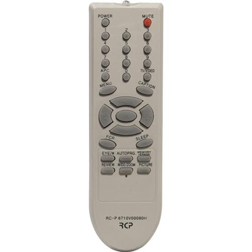 Controle Remoto De Tv Para Receptor Lg Rcp6710v00090h Rcp