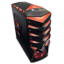 Gabinete Gamer Megalodon Atx E Micro-Atx Dz-622716 Dazz