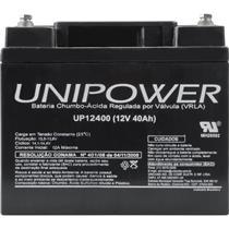 Bateria De Chumbo Ácida Selada 12V 40A Up12400 Unipower
