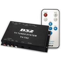 Sintonizador E Receptor De Tv Box Universal Automotivo Tv-T03 B52