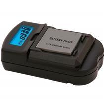 Carregador Para Baterias Sony Bivolt Vivsc3100s Vivitar