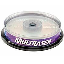Mídia Dvd+R Dual Layer 8X Com 10Un Dv003 Multilaser
