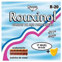 Encordoamento Para Violão Em Aço Inox R20 Rouxinol