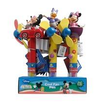 Caixa De 6 Canetas Mickey, Minnie, Margarida Bip