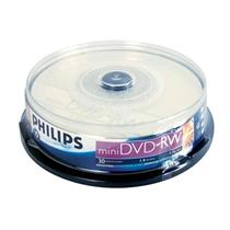 Midia Mini Dvd - Rw 2X 1,4Gb Com 10 Unidades Philips