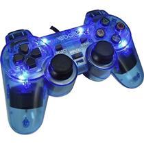 Joypad Play 2 Analogico Com 4 Leds Eb802 Azul Ebolt