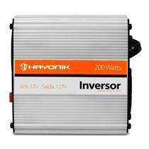 Inversor De Onda Modificada 12VDC 127V 60Hz USB 200W Hayonik