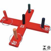 Jogo de Desafio Argolas Cruz Carlu Brinquedos