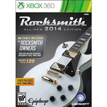 Rocksmith All New Edition 2014 Xbox 360 Sem Cabo Ubisoft