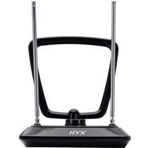 Antena Digital Interna Uhf Vhf Fm 75 Ohms Preto Hdai 101 Hyx