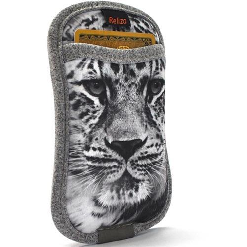 Capa Para Smartphone Com Porta Cartão Leopardo Reliza