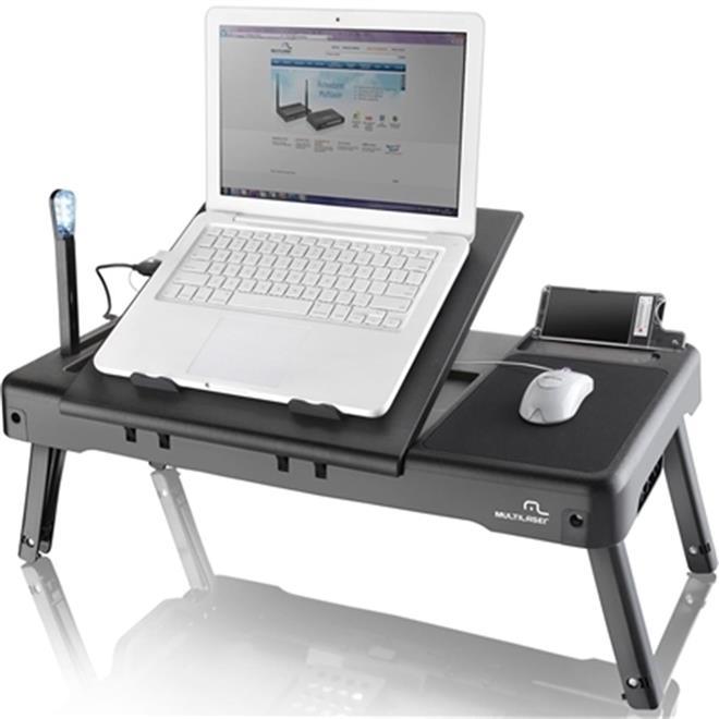 Mesa port til para notebook com cooler ac163 multilaser - Mesa para portatil ikea ...