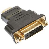 Adaptador Dvi Fêmea X Hdmi Macho Conector Gold 5 Unidades 18167 Loud