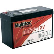 Bateria Selada Recarregável 12V 07Ah Multitoc