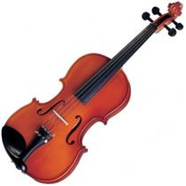 Violino Tradicional 1/2 Acabamento Avermelhado Michael