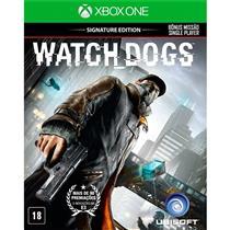 Watch Dogs Signature Edition Ptbr Xbox One Ubisoft
