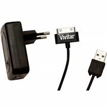 Carregador De Parede Para Iphone V10487cipdbr Vivitar