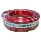 Cordão Cristal 2X Vd 1.00Mm Vermelho 100 Metros - Pompéia