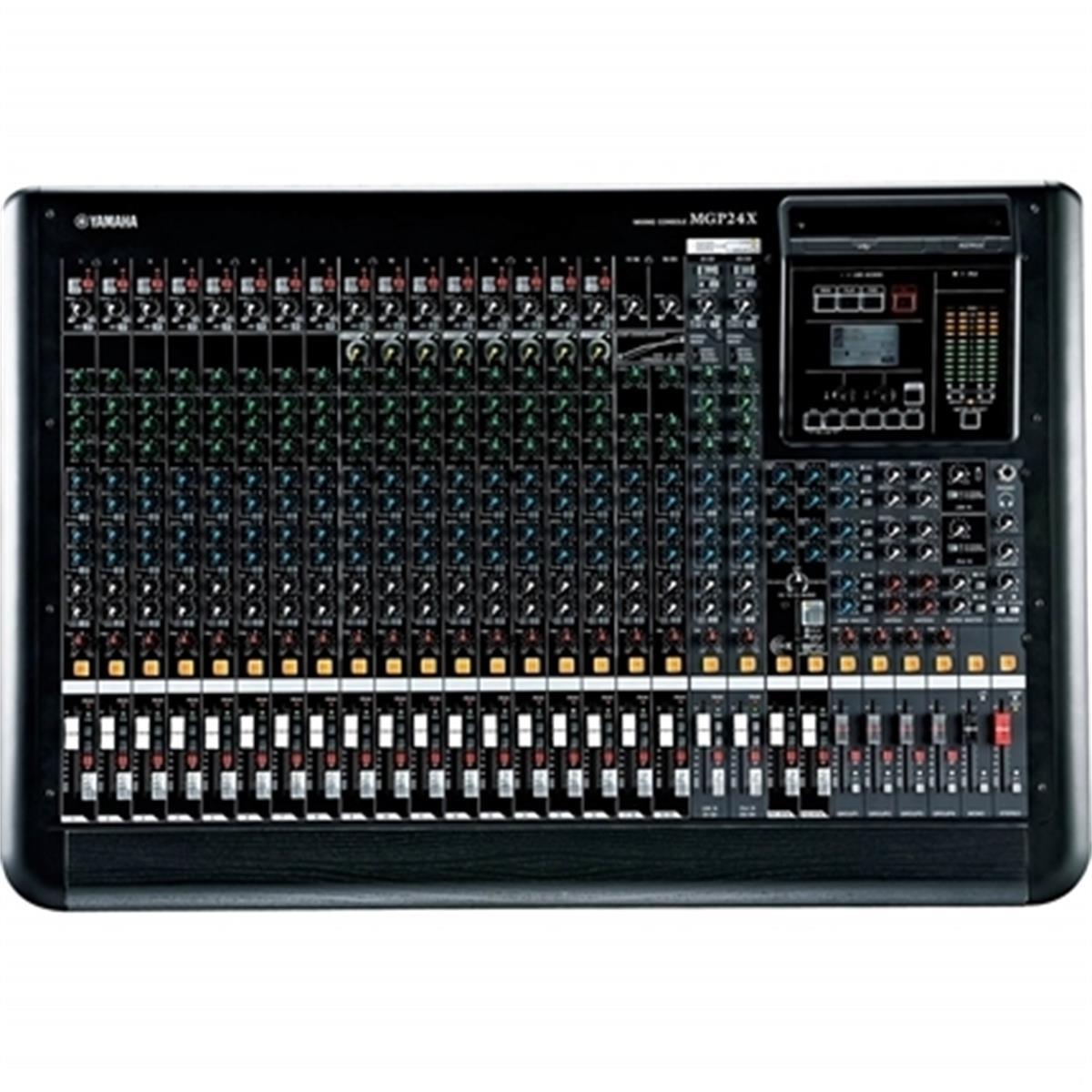 Mesa De Som Analógica 16 Entradas Microfone 16 Mgp24x Yamaha