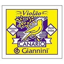 Encordamento Violão Em Aço Canário Geswb Giannini