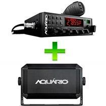 Rádio PX 80 Canais com Alto Falante 3W Aquário kits