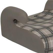 Assento Infantil Automotivo Safety Comfort Xadrez Cinza Tutti Baby