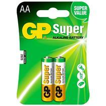 Pilha Aa Super Alcalina  2 Unidades 15A-C2 Gp