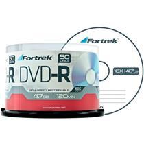 Midia Dvd-R Com 50 Unidades Dvd-Rp50 Fortrek