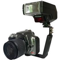 Suporte De Flash Para Filmadora E Câmera Slr Vivfb100 Vivitar