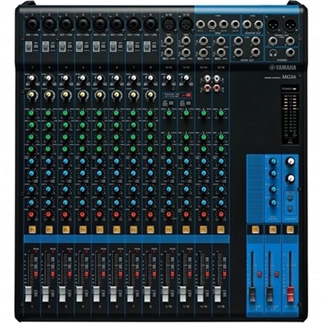 Yamaha Mg124c Mesa De Som Mixer Yamaha Mg206c Pictures to pin on Pinterest