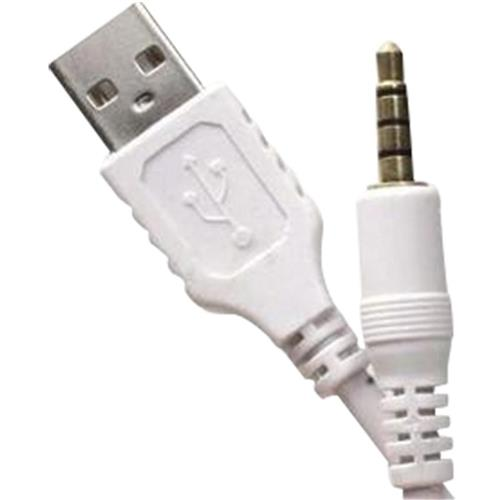 Cabo P2 P/ Usb 15Cm Bco Gold Loud