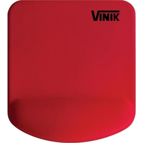 Mouse Pad Base Gel Vermelho Poliuretano Mpg-02 Vinik
