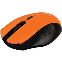 Mouse Sem Fio Nano Receptor Usb Citrus Laranja Mo203 Newlink