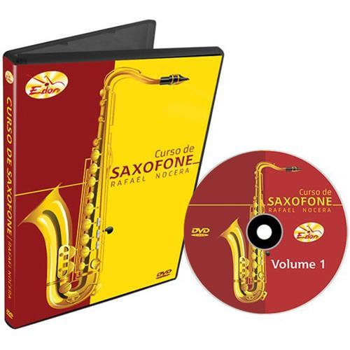 Curso De Saxofone Vídeo Aula Em Dvd Csax Edon