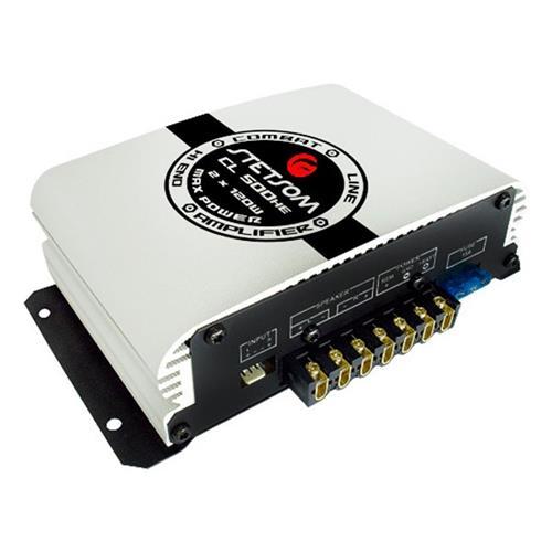 Modulo Ampificador 2 Canais 2x60w Rms 2r Cl500he Stetsom