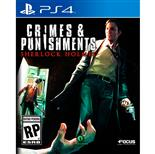 Crimes & Punishment: Sherlock Holmes Em Inglês Para Ps4 Maximum Games