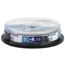 Midia Blu-Ray Bd-R 4X 25Gb Cake Com 10 Unidades Philips
