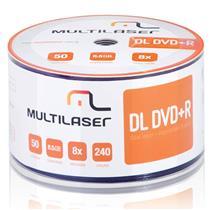 Dvd-R Shrink Imprimível Com 50 Unidades Dv047 Multilaser