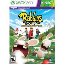 Rabbids Invasion Kinect Game Infantil Para Xbox 360 Ubisoft