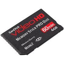 Memory Stick Pro Duo 4Gb Sdmspdhv-004 Sandisk