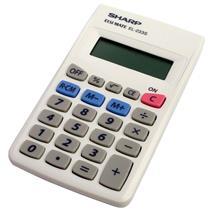 Calculadora Digital 8 Dígitos Com Bateria El233sbk Sharp