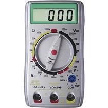 Multimetro Digital Ut-30b Prata Loud