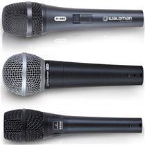 Kit De Microfones 3 Peças Pack Stage S-3Pm Waldman