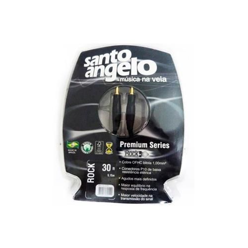 Cabo Para Guitarra com Nylon P10 ROCK SCPPS 30FT Santo Angelo