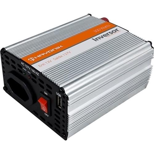 Inversor De Onda Modificada Usb 300W 12Vdc127v Hayonik