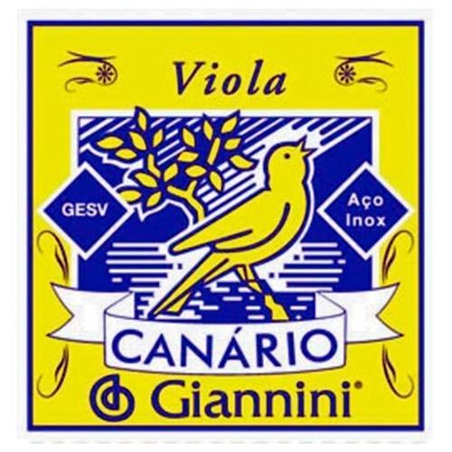 Encordoamento De Aço Para Viola Canário Gesv Giannini
