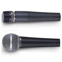 Kit De Microfones 2 Peças Com Fio Stage S-2Pm Waldman
