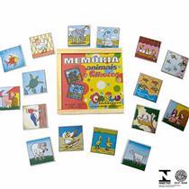 Jogo Da Memória 40 Pçs Animais E Filhotes 1182 Carlu