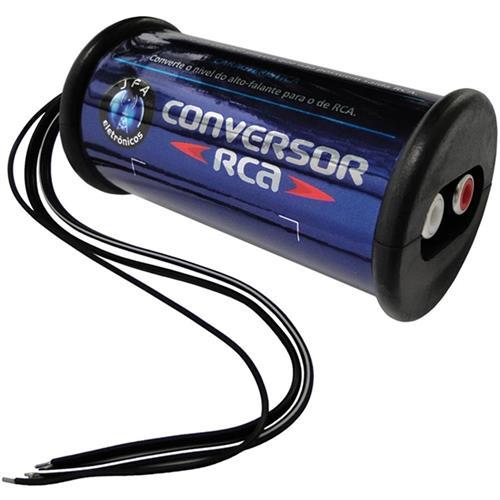 Adaptador De Nivel Conversor De Áudio Rca A1063 Jfa